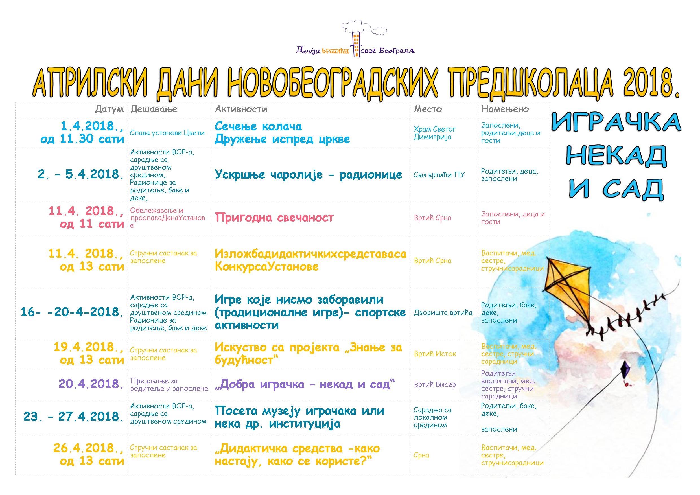 aprilski dani poster 2018 a3 tabela bez linija